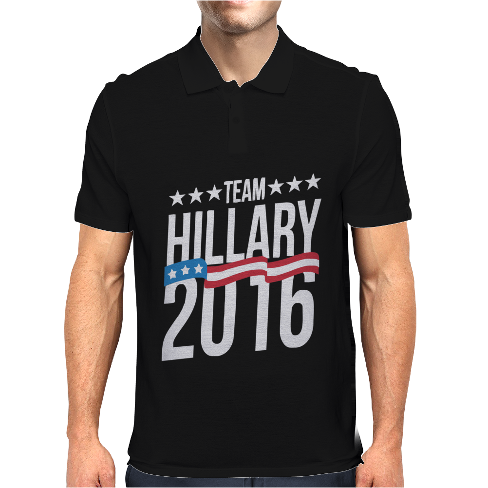 Team Hillary 2016 Mens Polo