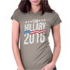 Team Hillary 2016 Womens Fitted T-Shirt