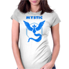 Team Mystic (vintage) Womens Fitted T-Shirt