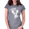 Team Panda Womens Fitted T-Shirt