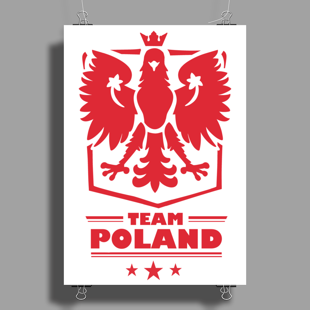 Team Poland Poster Print (Portrait)