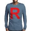Team Rocket R Tee Mens Long Sleeve T-Shirt