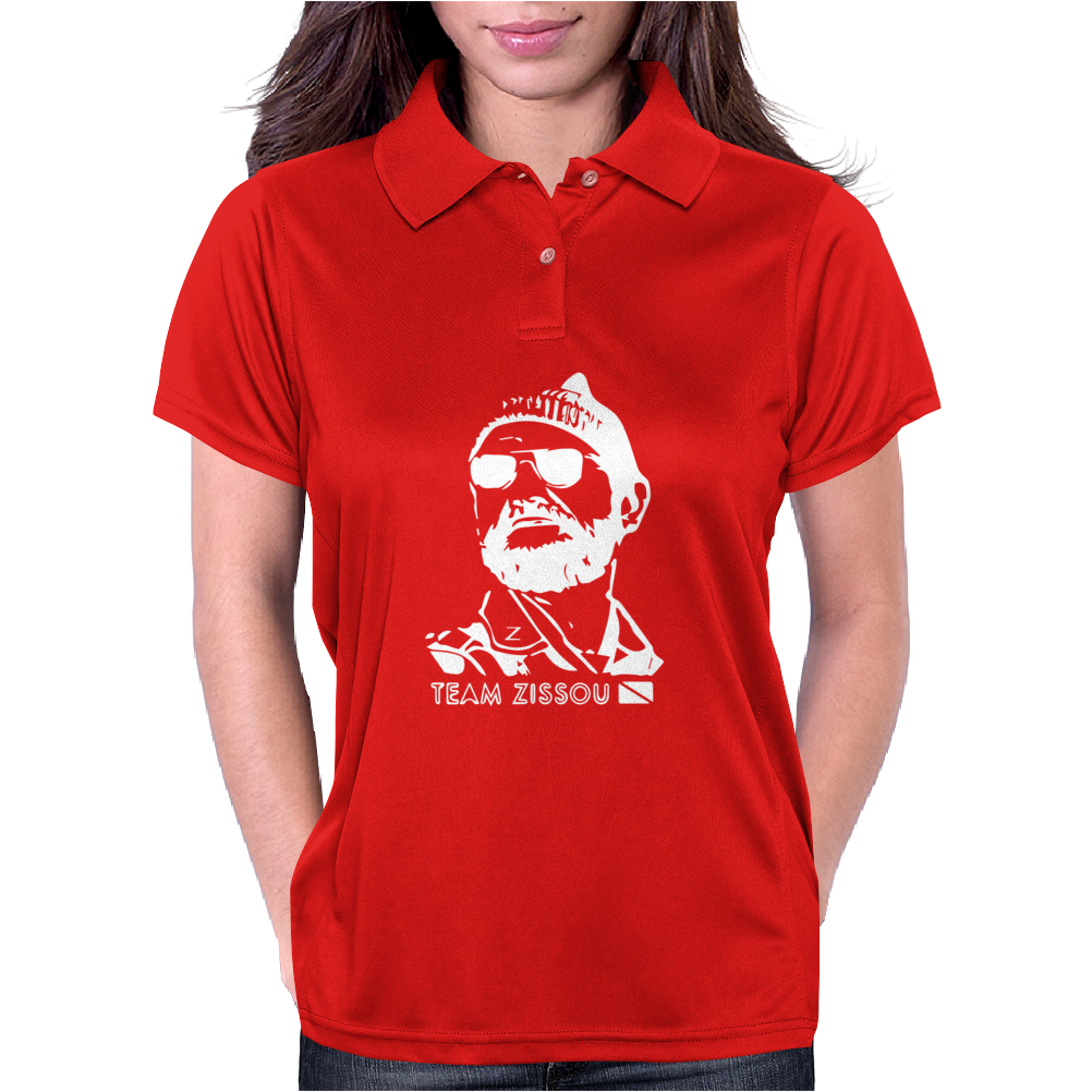 Team Zissou Womens Polo