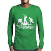Teamwork - Mens Funny Mens Long Sleeve T-Shirt
