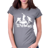 Teamwork - Mens Funny Womens Fitted T-Shirt