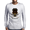 Technics Dj Skull, Mens Long Sleeve T-Shirt