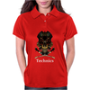 Technics Dj Skull Womens Polo
