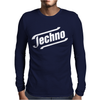 Techno Mens Long Sleeve T-Shirt