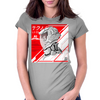 Techno Retro A1 Womens Fitted T-Shirt