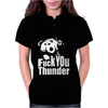 Ted Fuck You Thunder Womens Polo