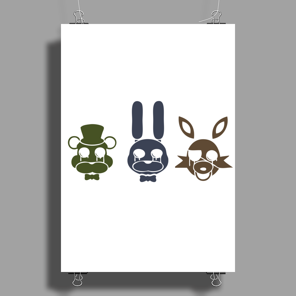 Teddy Bear and Friends Poster Print (Portrait)