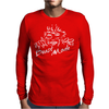 Teen Wolf Mens Long Sleeve T-Shirt