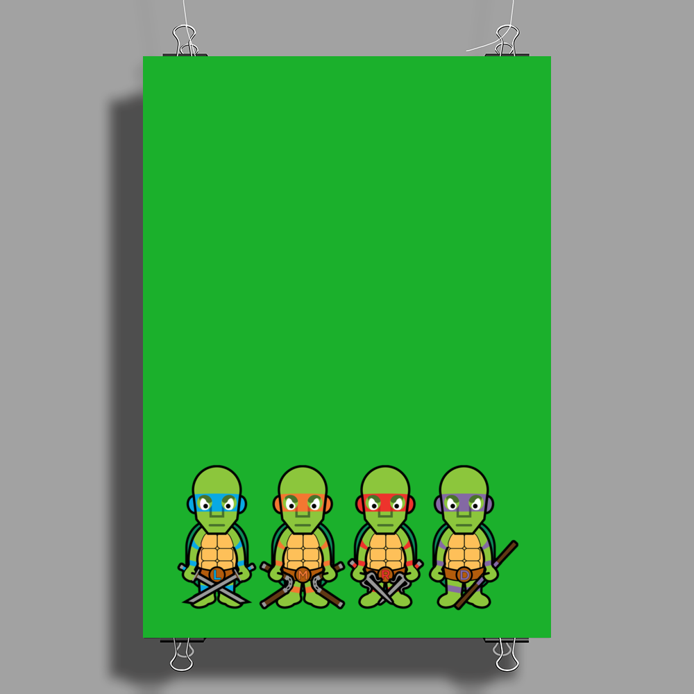 Teenage Mutant Ninja Turtles - Cloud Nine Edition Poster Print (Portrait)