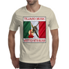 Tejano Music, Written With Blood Mens T-Shirt