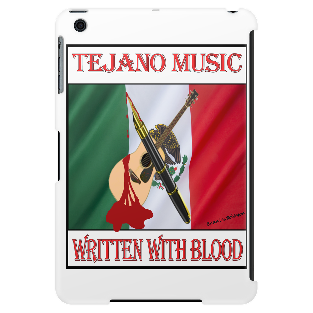 Tejano Music, Written With Blood Tablet (vertical)