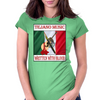 Tejano Music, Written With Blood Womens Fitted T-Shirt