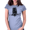 Terminator Art Womens Fitted T-Shirt