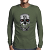 Terminator Movie Skull Mens Long Sleeve T-Shirt