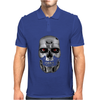 Terminator Movie Skull Mens Polo
