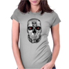 Terminator Movie Skull Womens Fitted T-Shirt