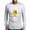 Terminator Smily Face Mens Long Sleeve T-Shirt