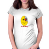 Terminator Smily Face Womens Fitted T-Shirt