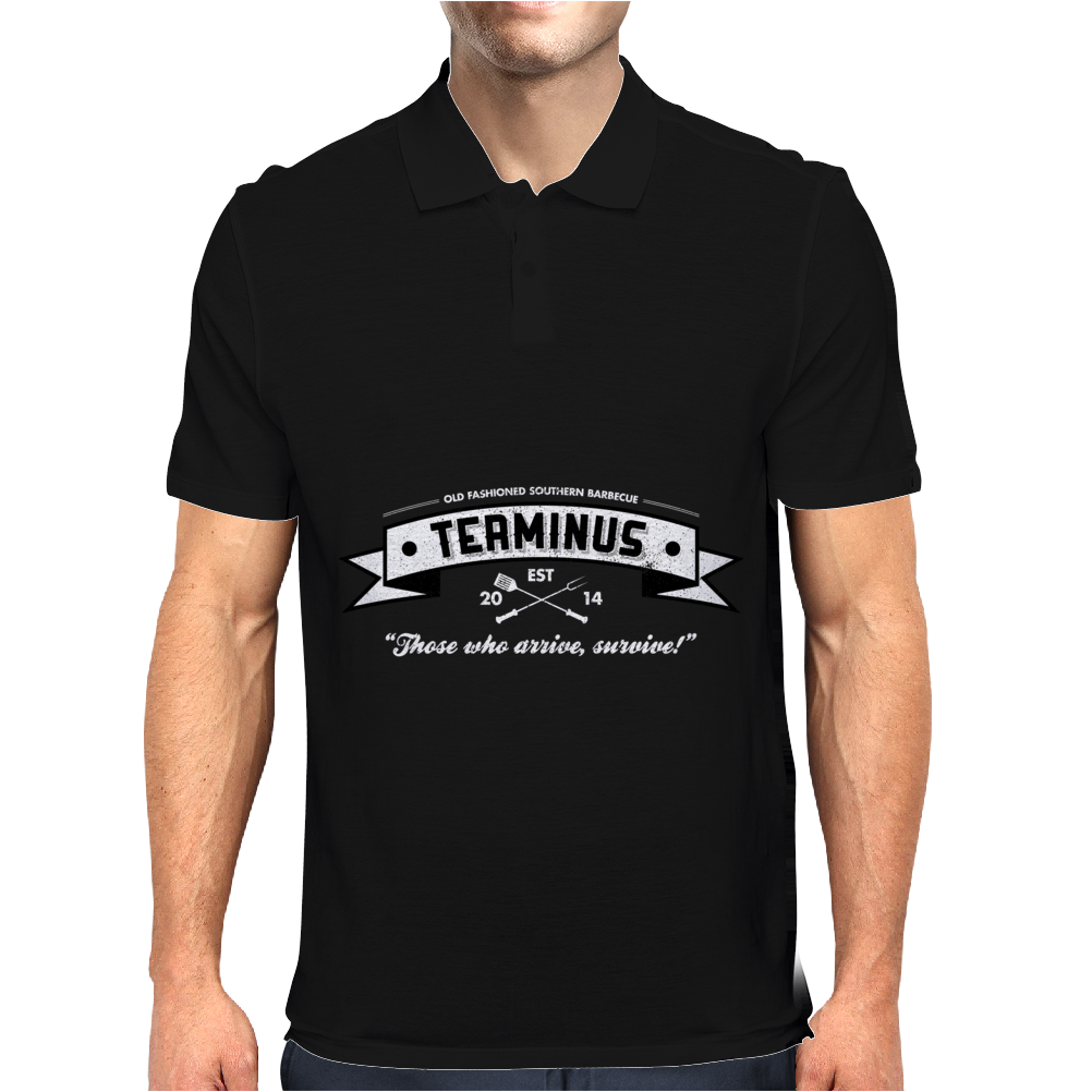 Terminus BBQ Mens Polo