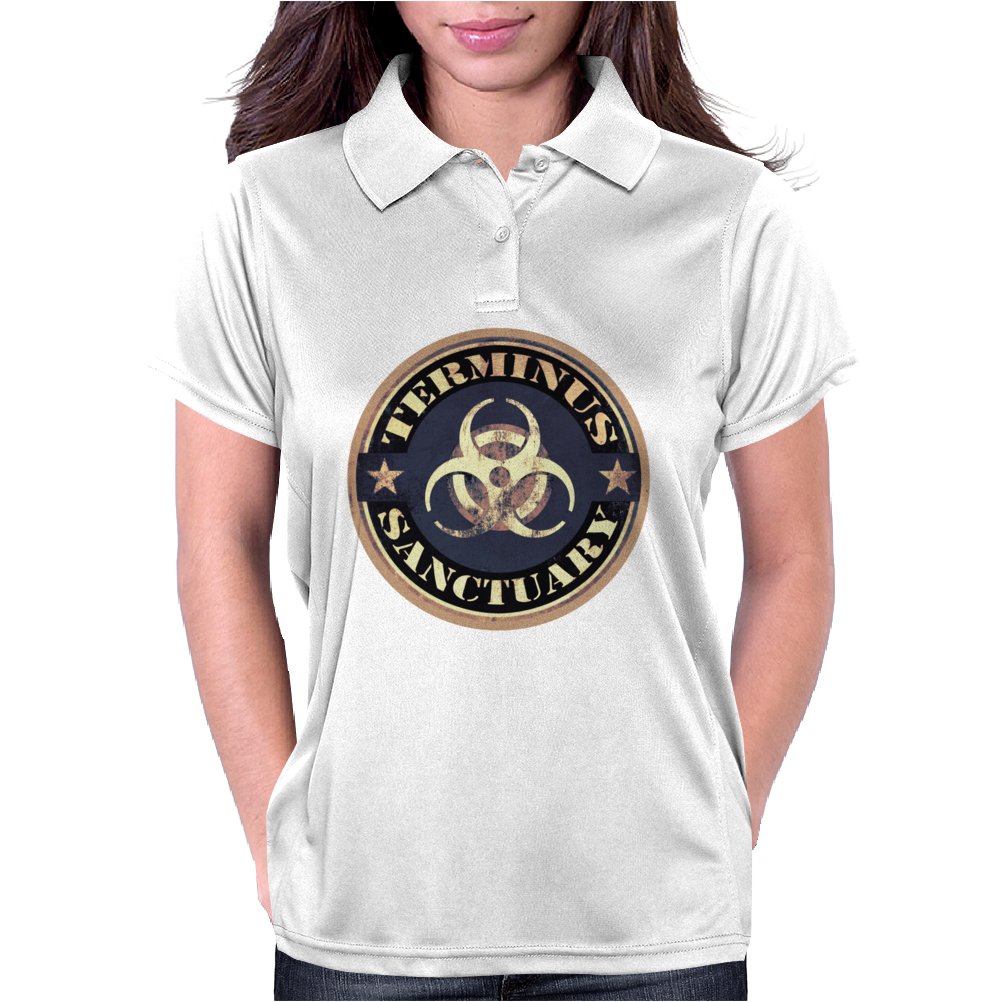 terminus (blue) Womens Polo
