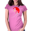 Terror Duck that Flaps in the Night Womens Fitted T-Shirt