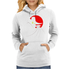 Terror Duck that Flaps in the Night Womens Hoodie