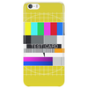 test card analog test pattern retro TV vintage television Phone Case