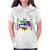 test card vintage retro colorful tv screen television Womens Polo