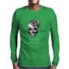 Tete De Mort Skull & Bone Real Lost Possible Message Mens Long Sleeve T-Shirt