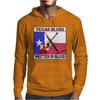 Texas Blues- Written In Blood Mens Hoodie