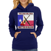 Texas Blues- Written In Blood Womens Hoodie