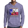 Texas Blues-Written With Blood Mens Hoodie
