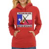 Texas Blues-Written With Blood Womens Hoodie
