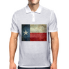 Texas state flag - retro style Mens Polo
