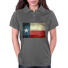 Texas state flag - retro style Womens Polo