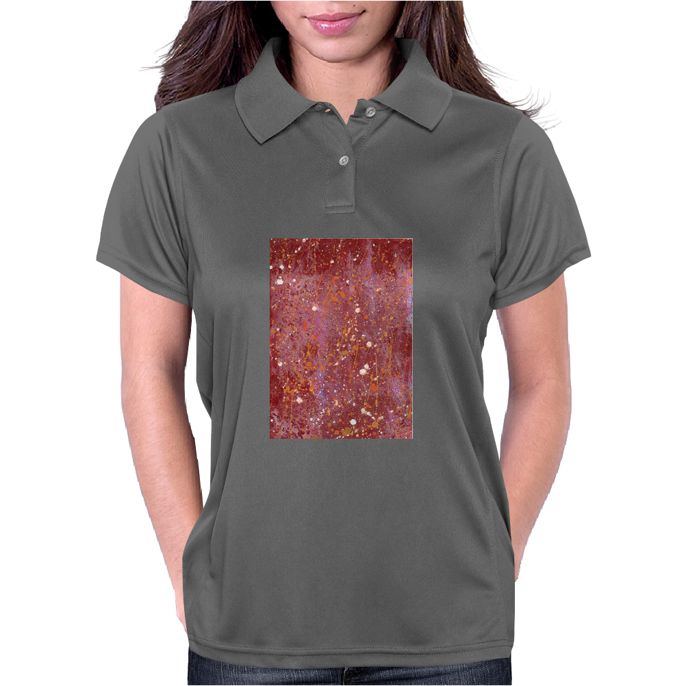 texture-10 Womens Polo