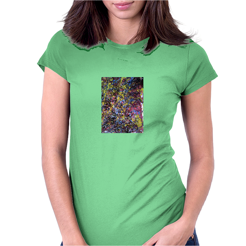 texture-19 Womens Fitted T-Shirt