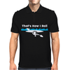 That's How I Roll Funny Canoe Kayak Mens Polo
