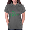 THC POT LEAF MOLECULE Womens Polo