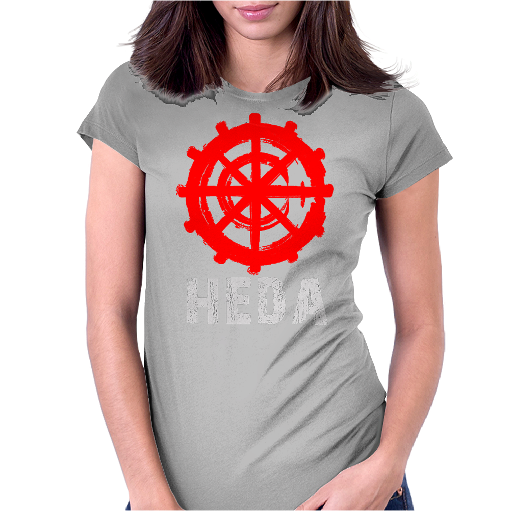 The 100 - Heda Womens Fitted T-Shirt