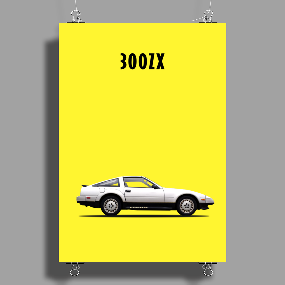 The 300ZX Poster Print (Portrait)