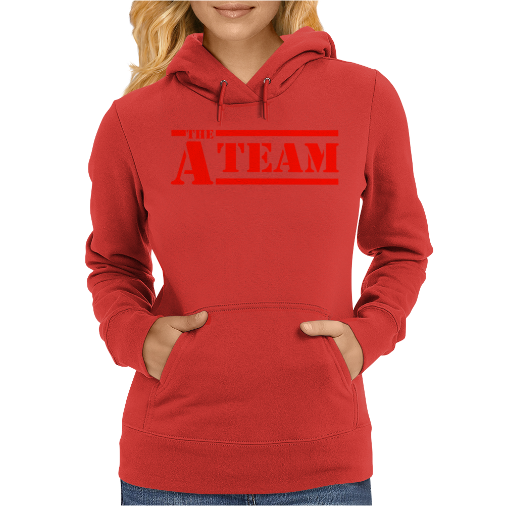 The A Team BA Baracus Hannibal Womens Hoodie