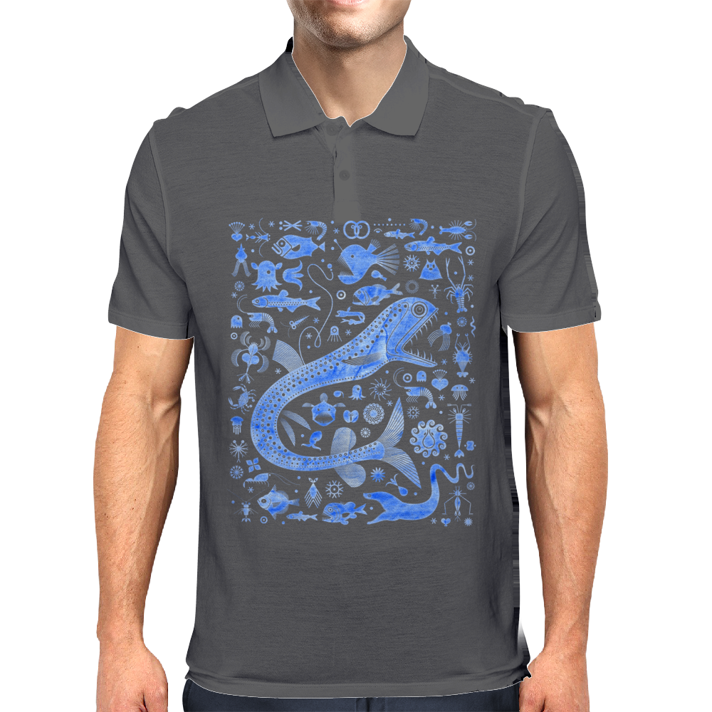 The Abyssal Zone Mens Polo