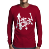 The Action Mens Long Sleeve T-Shirt
