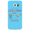 The Adventures of Eyehole Man [Rick and Morty] Phone Case