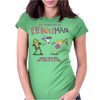 The Adventures of Eyehole Man [Rick and Morty] Womens Fitted T-Shirt